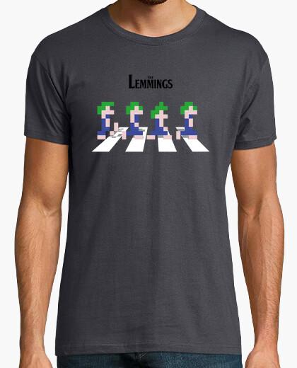 T-shirt i lemmings