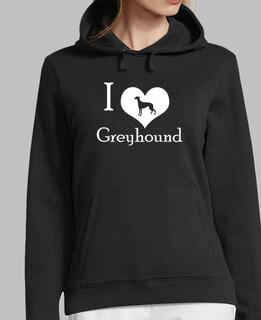 i liebe grau Hound (w)