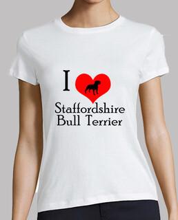 i liebe Staffordshire Bull Terrier