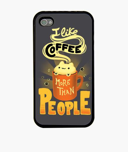 Funda iPhone I like coffee case