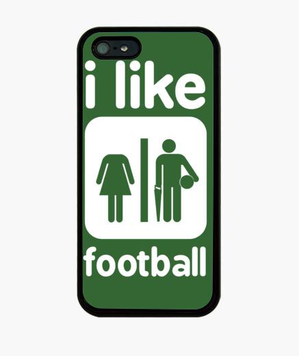 I like football - Coque iPhone