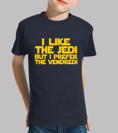 i like the jedi but i prefer the vendre