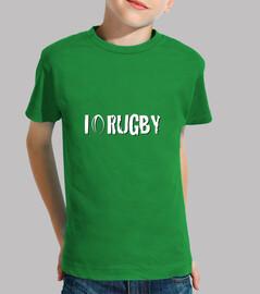 I live rugby - júnior t-shirt