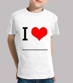 I Love ________ (Compra, pinta y regala!