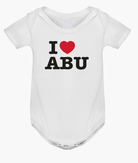 Ropa infantil I Love Abu