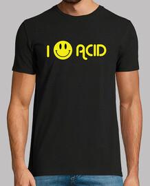 I Love Acid Negra Chico
