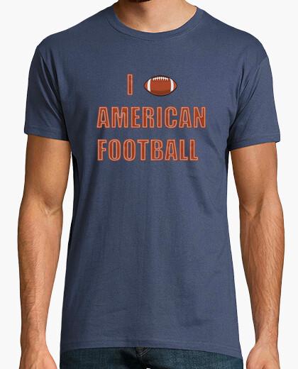 Camiseta I LOVE AMERICAN FOOTBALL