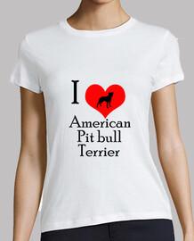 I love american pit bull terrier