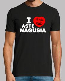 i love aste nagusia v2 t shirt