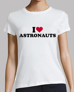 i love astronauten