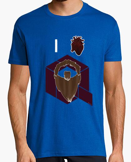 Camiseta I love Barba Q