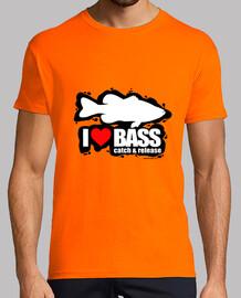I love bass Hombre
