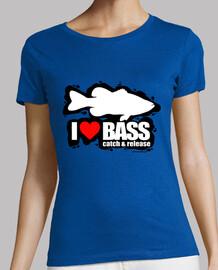 I Love Bass Mujer