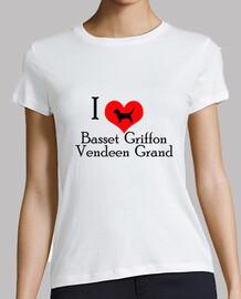 I Love Basset Griffon Vendeen Grand