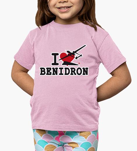 Ropa infantil I LOVE BENIDRON