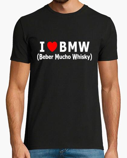 T-shirt i love bmw