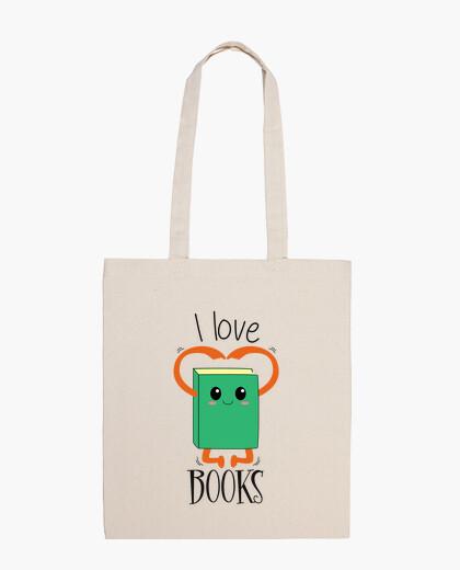 Bolsa I love books