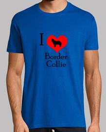I love border collie