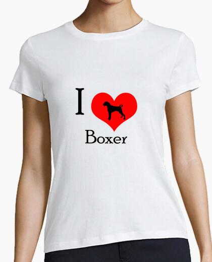 Tee-shirt I Love Boxer