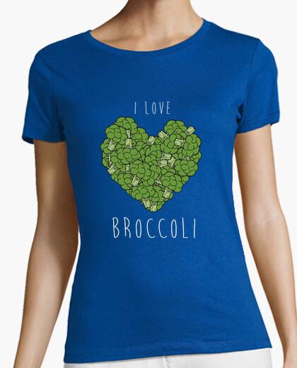 Camiseta I love broccoli