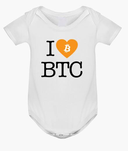 Ropa infantil I Love BTC