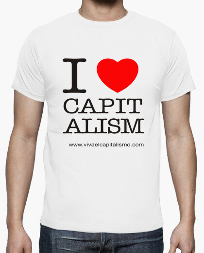 I love capitalism boy t-shirt