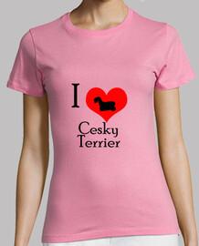 I Love Cesky Terrier