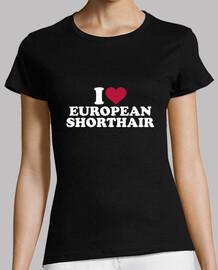 i love cheveux courts européens