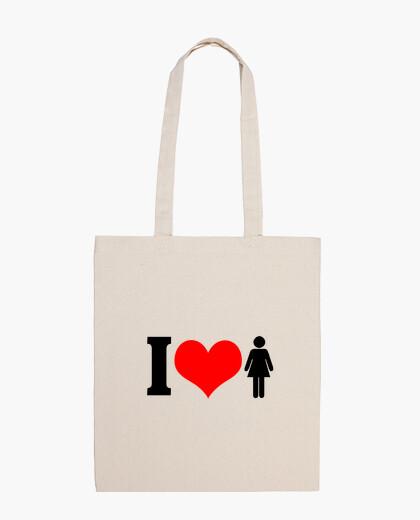 Bolsa I Love Chicas