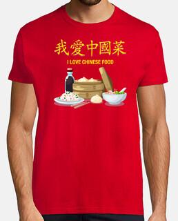 i love chinese food shirt boy