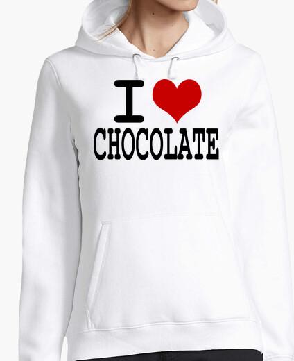 Sweat I love chocolate