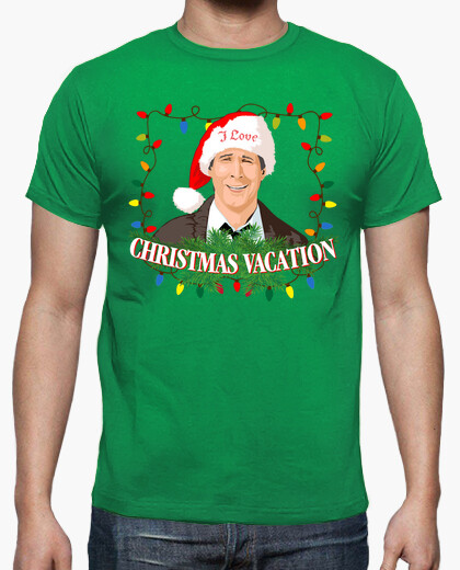 Camiseta I Love Christmas Vacation