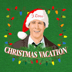 Camisetas I Love Christmas Vacation