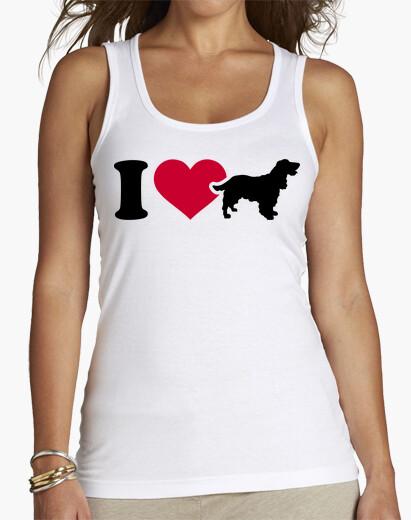 T-Shirt i love cockerspaniel