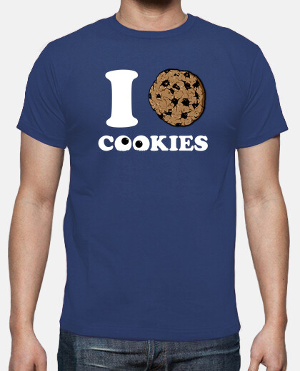 Camisetas I Love Cookies