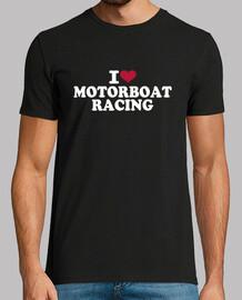 i love courses de bateau à moteur