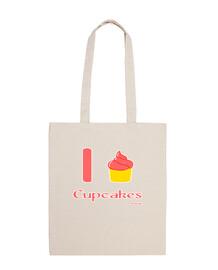 I love Cupcakes bag