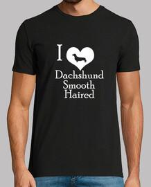 i love dachshund smooth haired (w)