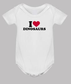 i love dinosaures