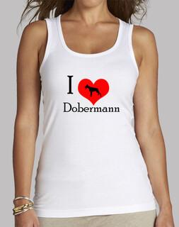 i love doberman