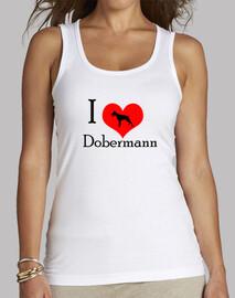I Love Dobermann