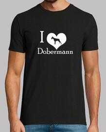 i love dobermann (w) chop