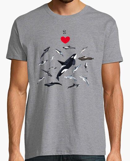 I love dolphins shirt t-shirt