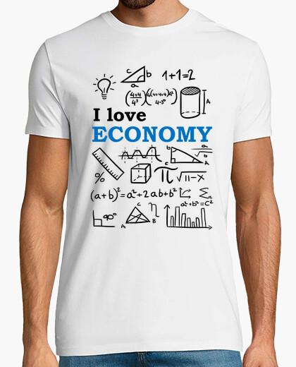 Camiseta I love Economy