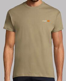 I LOVE ESPAÑA / Verde Militar claro (Logo pequeño)