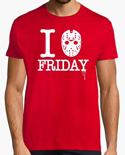 Camiseta I Love Friday