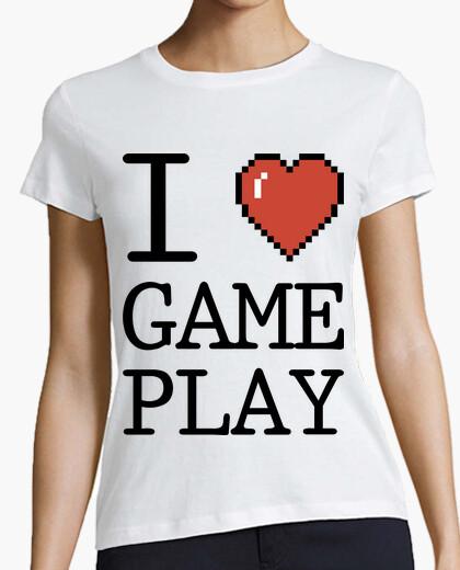 Camiseta I Love GamePlay
