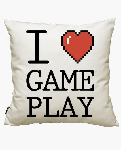 Fodera cuscino i love gameplay