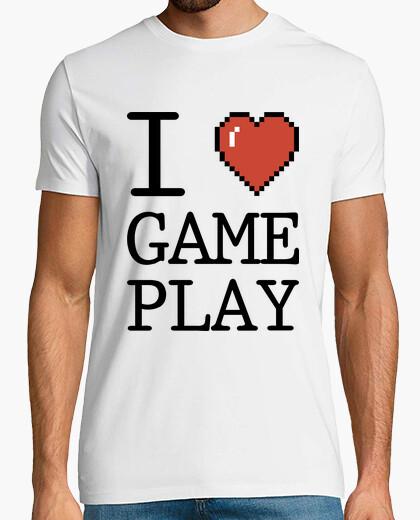 Tee-shirt I love GamePlay