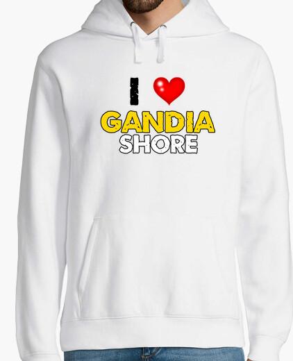 Jersey i love Gandia Shore - Sudadera